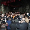 Mevlana Tüneli'nde, Birinci Tüpte Işık Göründü