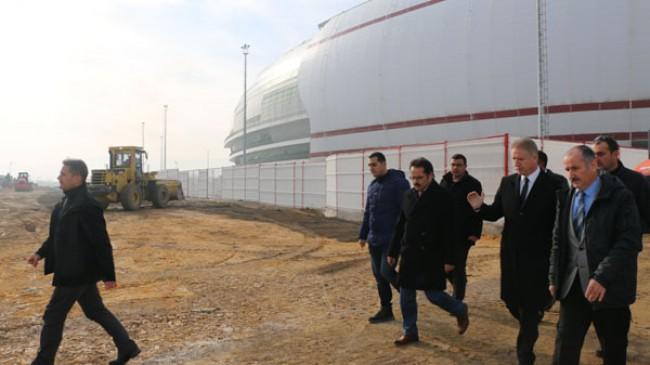 Yeni 4 Eylül Stadyumu Çevre Düzenleme Çalışmaları Başladı.