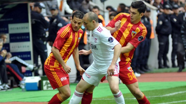 Kayserispor:1 Sivasspor:1
