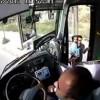 Halk otobüsündeki hırsızlık kameralarda