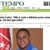 Carlos ülkesine Sivasspor'u tanıttı
