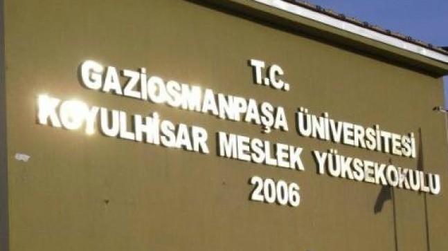 Koyulhisar MYO Cumhuriyet Üniversitesine bağlandı