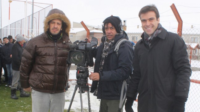 Brezilya televizyonu Sivas'ta