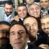 Başkandan galibiyet selfiesi