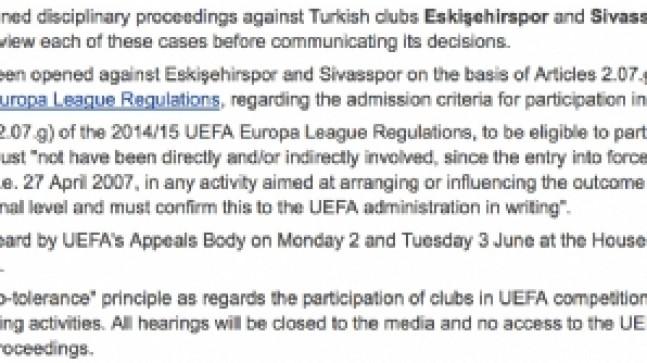 Sivasspor'a kötü haber