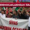 Alperenler İsrail'e tepki yapdırdı