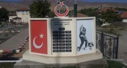 Divriğide Şehitlik anıtına çirkin saldırı