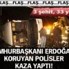 Sivas'ta otobüs devrildi:4 Şehit