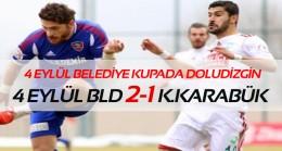 4 Eylül Belediye kupa şov devam ediyor 2-1