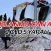 Sivas'ta kaza 2 ölü 5 yaralı