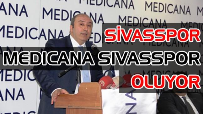 Sivasspor'un yeni sponsoru