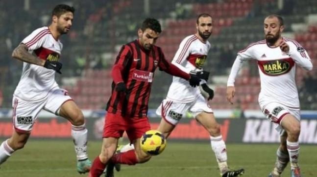 Gaziantepspor 1 – 3 Medicana Sivasspor.
