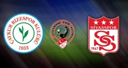 Çaykur Rizespor 2-1 Sivasspor