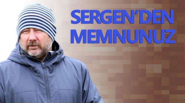 Sivasspor Sergen'den memnun