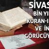 Ziyabey Kütüphanesinde bin yıllık Kuran-ı Kerim