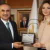 Azerbaycan Milletvekili Ganire Paşayeva Sivas'ta