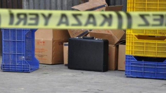 Sivas'ta şüpheli çanta paniği