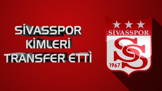 Sivasspor'un yeni transferleri