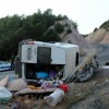 Yine işçi taşıyan minibüs devrildi:1 ölü 19 yaralı