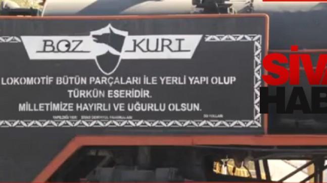 Milli Tren'in yük vagonu Sivas'ta üretilecek
