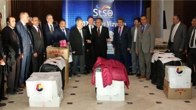 STSO'dan 400 öğrenciye giysi yardımı