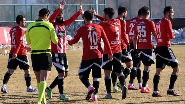 Sivas Belediyspor kupada 2. sıraya yükseldi
