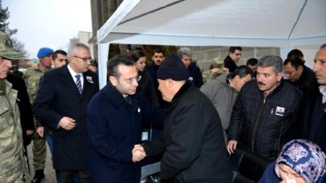 Sur'da Şehit Olan Uzman Çavuş,Memleketi Sivas'a gönderildi