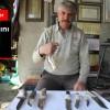 Demir kesen bıçak üretiyor