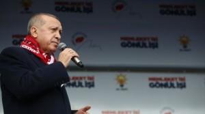 """Erdoğan'dan partililere soğuk duş;""""Toplantıyı proveke etmeyin"""""""