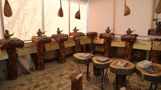 Ozanlar Müzesi Sivas'ta açıldı.