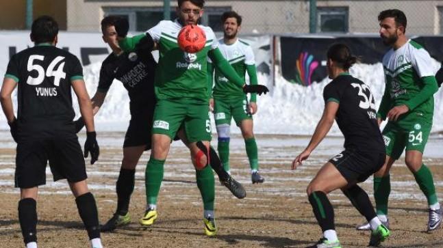 Sivas Belediyespor-Anadolu Üsküdar 1908 Spor: 1-1