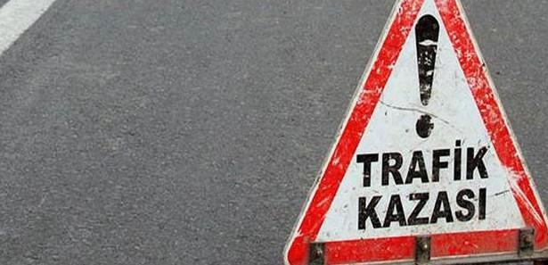 Trafik kazası:1 ölü 5 yaralı