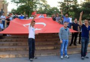 Sivas'ta Teröre Lanet Yürüyüşü