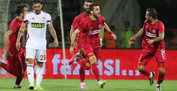 Sivasspor kupada 3. lig ekibine elendi