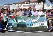 Sivas'ta 'Mescid-i Aksa' Protestosu