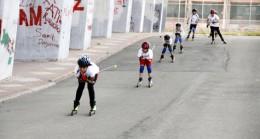 Kış olimpiyatlarına asfaltta hazırlık