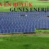 Sivas'ın ilk güneş enerji santrali devreye girdi
