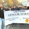 Sivas'ta öğrenciler YÖK'ü protesto etti