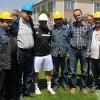 Carlos'a Tüdemsaş çalışanlarından baret