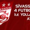 Sivasspor'da 4 futbolcu ile yollar ayrıldı