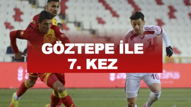 Sivasspor hiç galip gelemedi