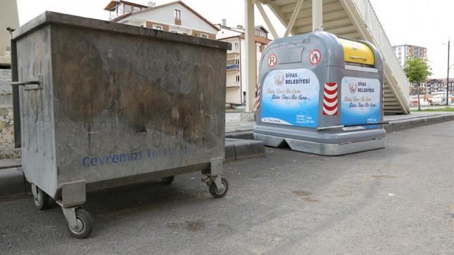 Çöp Konteynerleri Değişiyor…