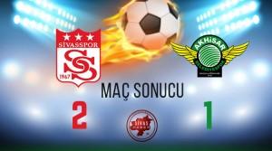 Sivasspor 2-1 Akhisar